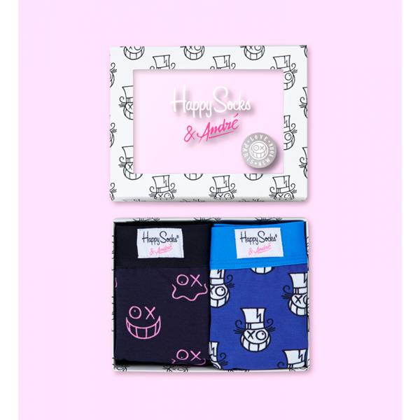 Box bielizna męska Happy Socks x Mr A XASTH81-6000
