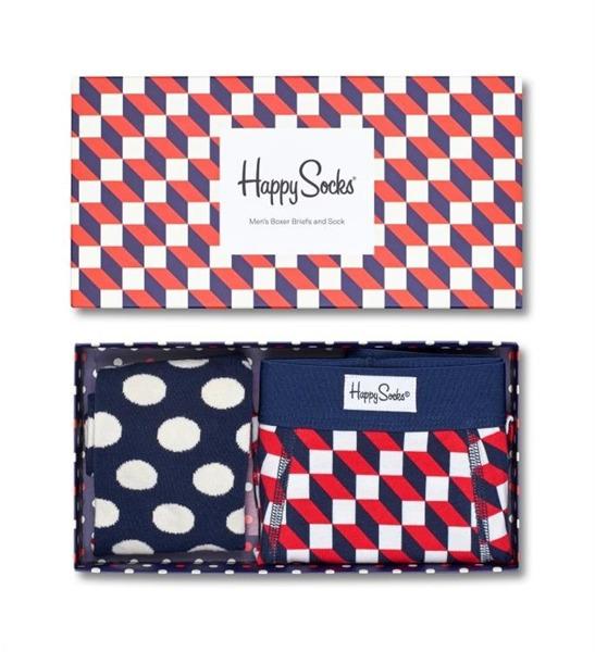 Combo box męski Happy Socks Trunk XFIO90-6000